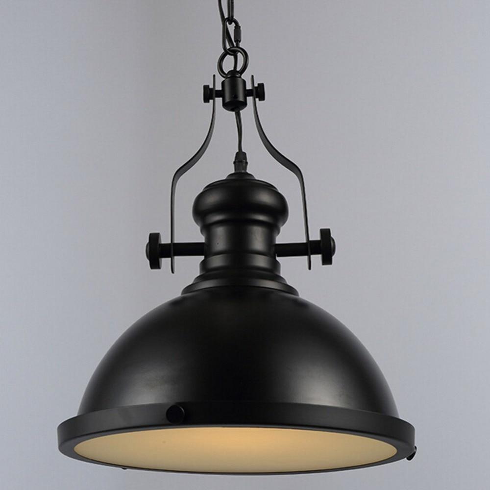 Edison Loft Metal Lid chandelier light Industrial Vintage Pendant Fixtures For Dining Room Hanging Lamp Lustres De Sala Light