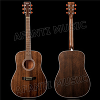 41 inch Acoustic/ Solid Africa Mahogany top / Mahogany back and sides/ AFANTI Acoustic guitar (AFA 904)