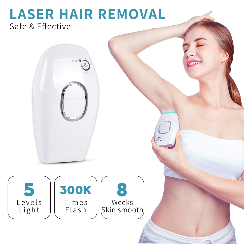 Professional Permanent Ipl Epilator Laser Hair Removal 300000 Flash Hair Removal Women Shaver