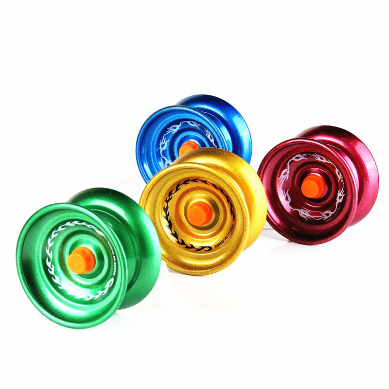 Cool Aluminum Design High Speed Professional YoYo Ball Bearing String Trick Yo-Yo Kids Magic Juggling Toy