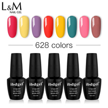 Black Bottle 15ml ibdgel Polish12 Pcs Set Lot Free Shipping Uv Nail Gel Nails Gelpolish Professional Top Base Coat Soak Off