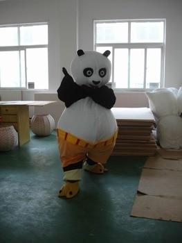 BING RUI CO formato adulto Kung Fu panda Del costume Della Mascotte Kung Fu Panda 102 $ costume Della Mascotte Kung Fu Tiger 138 $ freeshipping