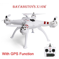 BAYANGTOYS X16 Mini Drones RC Helicopter GPS Brushless Motor RC Quadcopter RTF 2.4GHz 4CH 6Axis 360 Degree Flip Automatic Return