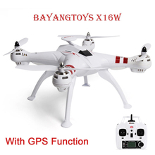 BAYANGTOYS X16 Mini Drones RC Helicopter GPS Brushless Motor RC Quadcopter RTF 2.4GHz 4CH