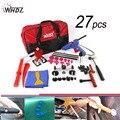 27pcs Hail Damage Repair Kit Auto Car Dent Removal Dent Puller Kit Fix Ding PDR Dent Lifter Paintless Hail Repair Tool Kits