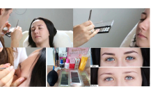 wholesale price eyebrow extension kits make up tools glue