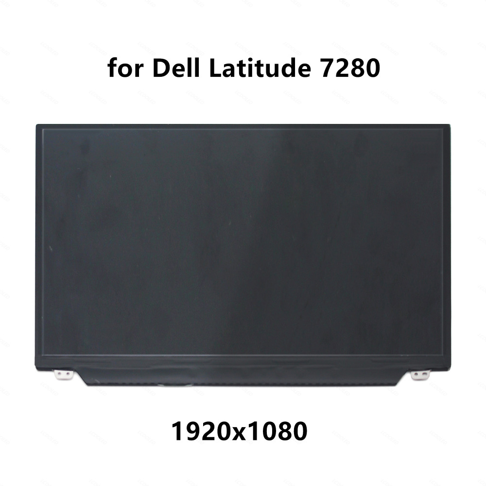 12.5 Laptop FHD LCD LED IPS Screen Display Panel Matrix Replacement Upgrade Part for Dell Latitude 7280 1920x1080 eDP 30 pins12.5 Laptop FHD LCD LED IPS Screen Display Panel Matrix Replacement Upgrade Part for Dell Latitude 7280 1920x1080 eDP 30 pins