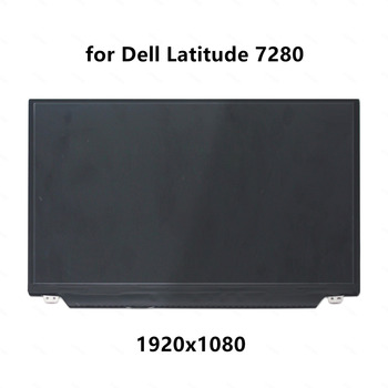"""12.5"""" Laptop FHD LCD LED IPS Screen Display Panel Matrix Replacement  for Dell Latitude 7280 5280 1920x1080 30 pins"""