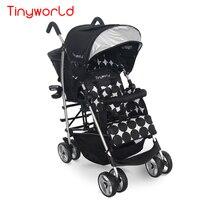 Легкий вес близнецы коляска детская коляска складной двухместный автомобиль близнецов автокресла супер легкие детские коляски спереди и с