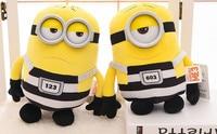 Kawaii Plush Doll 22cm/30cm Mini Minions Plush Toys 3D eye minion toy New Year presents Birthday Christmas Gift
