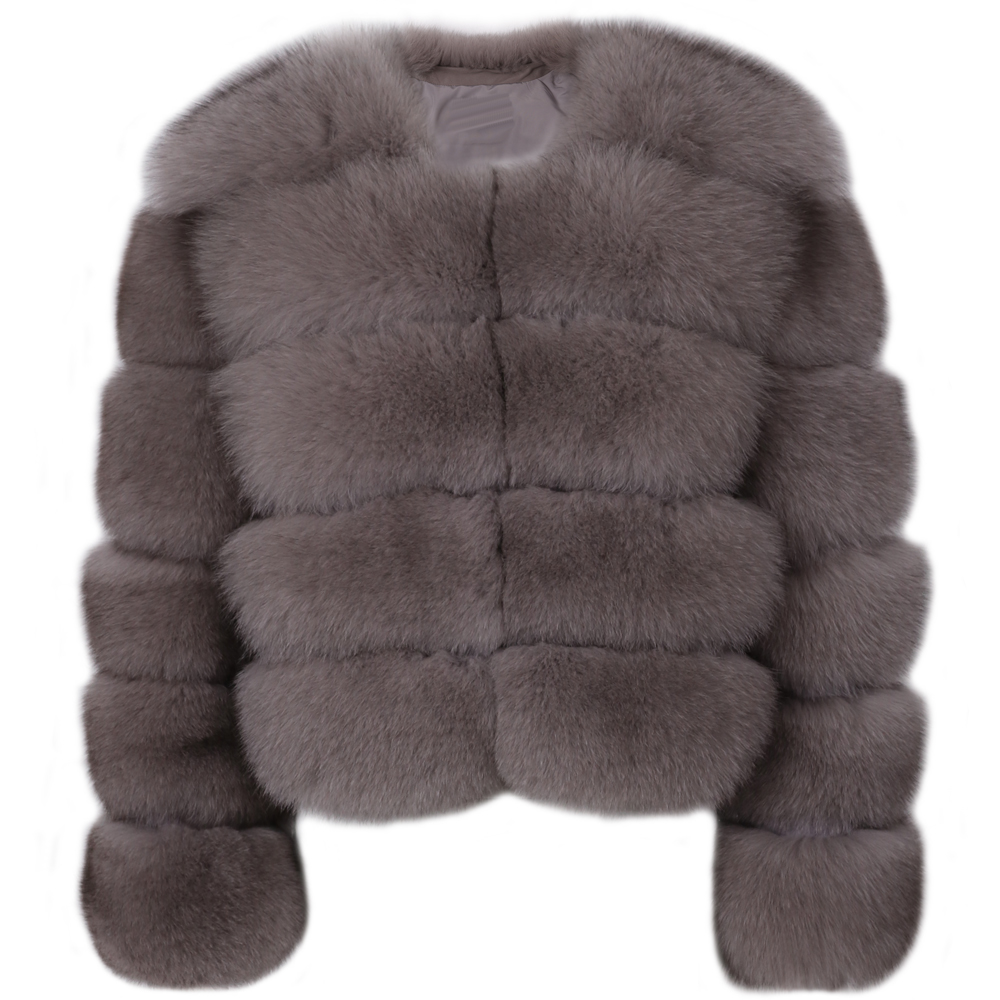 natural fur jacket women real fox fur jacket fox fur bombers