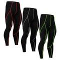 MMA Crossfit Levantamiento De Pesas Culturismo Compresión Skin Tights Delgado Elástico pantalones de Gimnasia de La Aptitud Para Hombre Entrenamiento