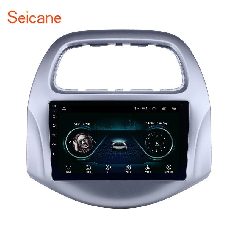 Seicane 9 pouces Android 8.1 voiture GPS Navigation Radio pour chevy Chevrolet Daewoo Matiz/Spark/Baic/Beat 2018 2019 Auto stéréo
