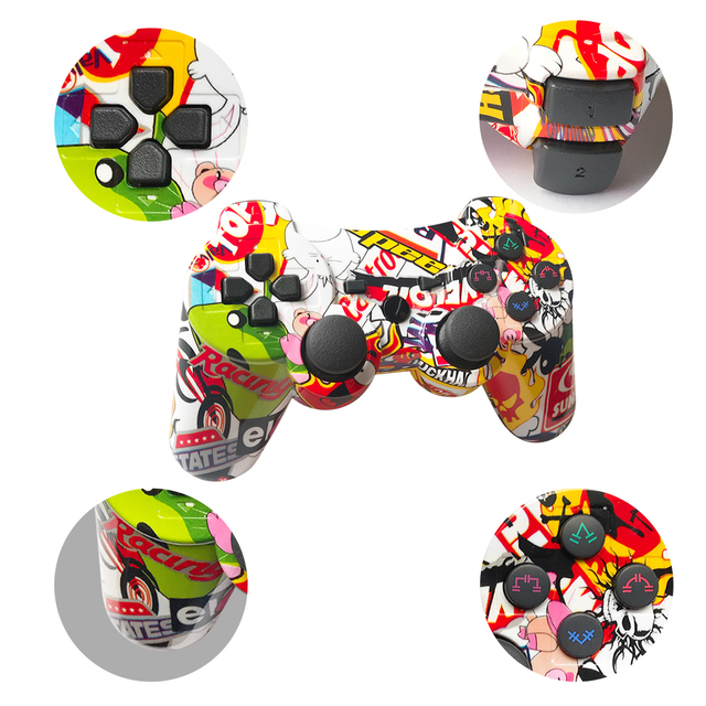 Mando inalámbrico Bluetooth para PS3, compatible con consola ps2, Playstation Dualshock 3