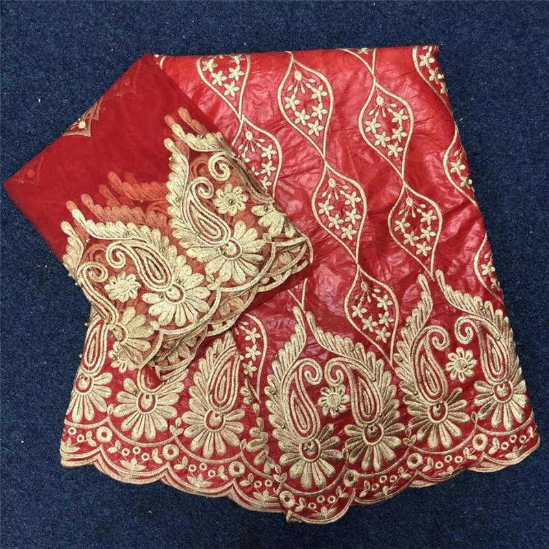 African Red bazin Fabric 2018 High Quality bazin Riche Fabric Embroidered With 2 Yards Tulle Lace Fabric For Occasion Dress 40African Red bazin Fabric 2018 High Quality bazin Riche Fabric Embroidered With 2 Yards Tulle Lace Fabric For Occasion Dress 40