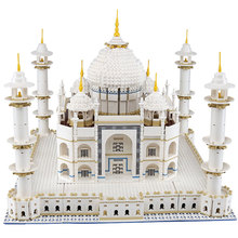 New LEPIN 17008 6633PCS The Tai Mahal 17008 Model Building Kits Brick Toys Compatible 10189 Gift Educational Children DIY Gift