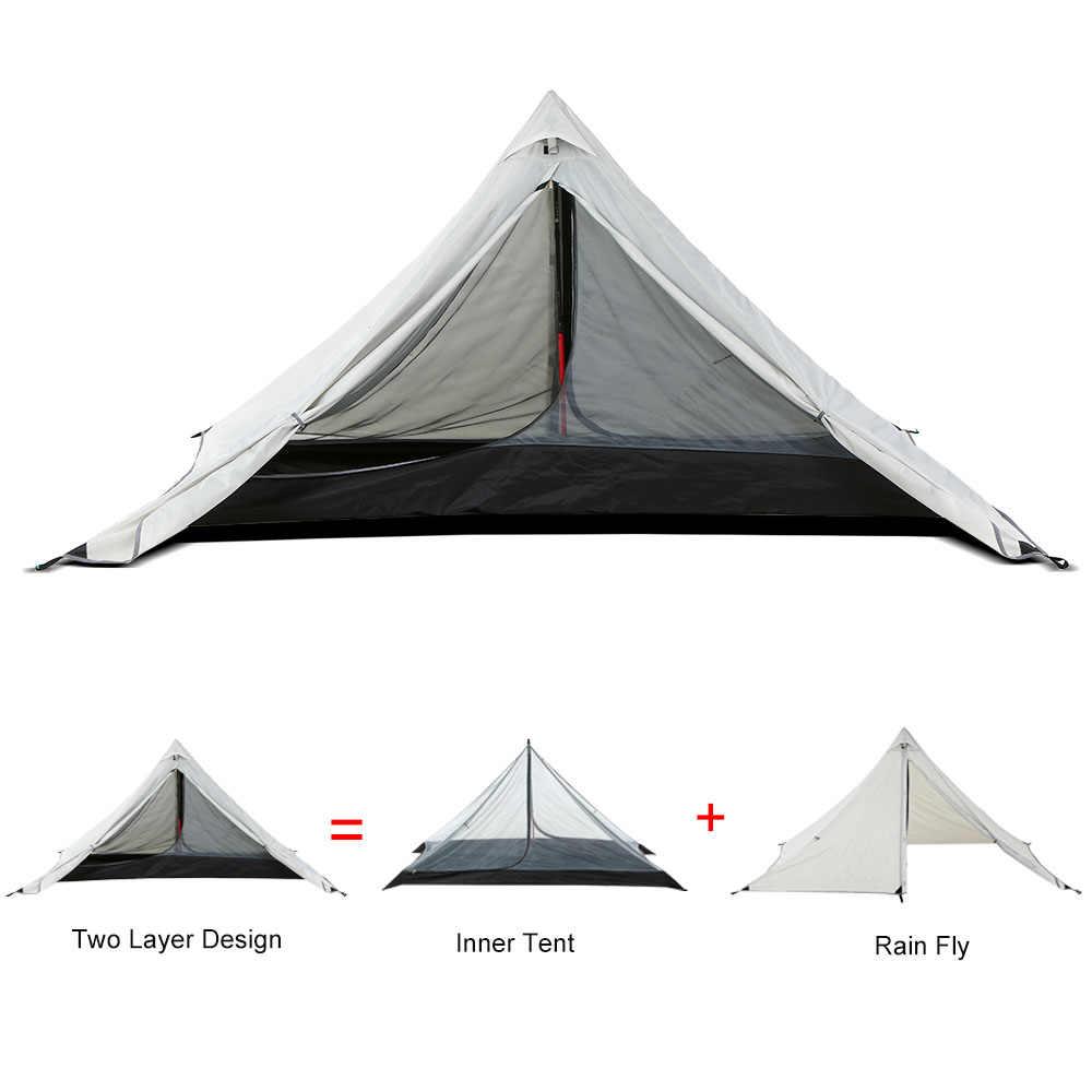 Двойной Слои палатка Водонепроницаемый открытый шатер альпинизмом