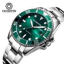 ブランド高級メンズクロノグラフ自動腕時計メンズステンレススチール防水ビジネススポーツ機械式腕時計 OCHSTIN 2019