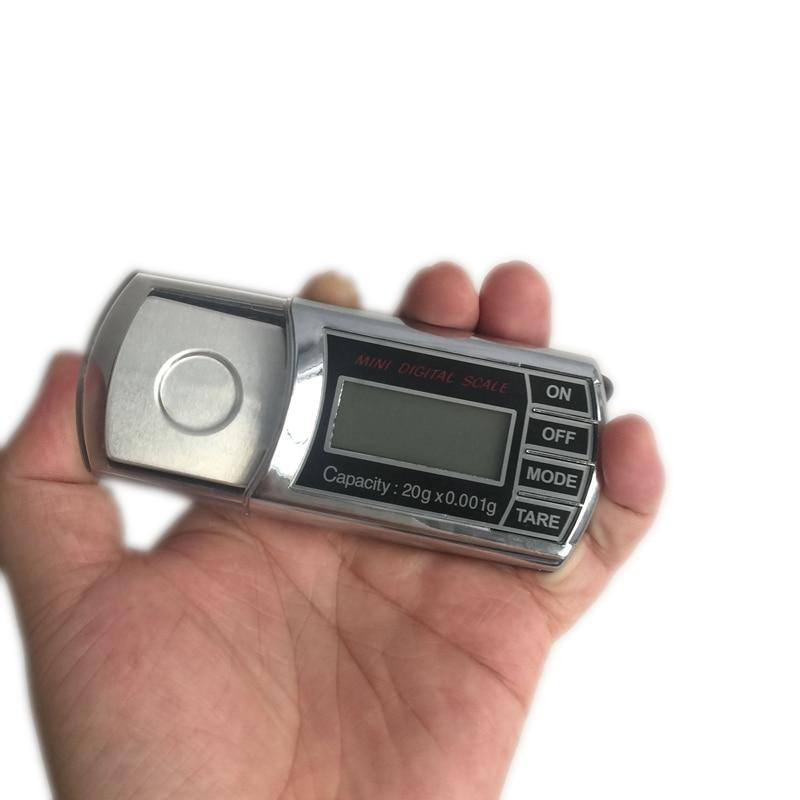 20g 0,001g LCD Cyfrowy miligram Gramowa skala kieszonkowa Mini - Przyrządy pomiarowe - Zdjęcie 4