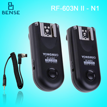 Y ongnuo RF-603 II N1แฟลชWireless T RiggerสำหรับD810 D800 D700 D4 D300S D3X