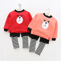 clothing sets plus cashmere kids clothes children clothing baby clothes girls clothing sets 2016 new winter BC-T269B