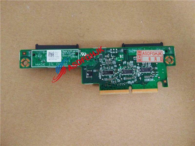 Original pour Dell Poweredge C8220X lame fond de panier Hdd Sas/Sata 2X2.5 3W8K4 CN-03W8K4 03W8K4 entièrement testé