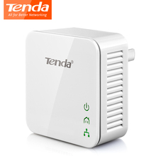 1Pcs Tenda P202 Mini 200Mbps PowerLine Network Adapter,PLC Ethernet adapter, Compatible with IPTV, Homeplug AV2 Plug and Play