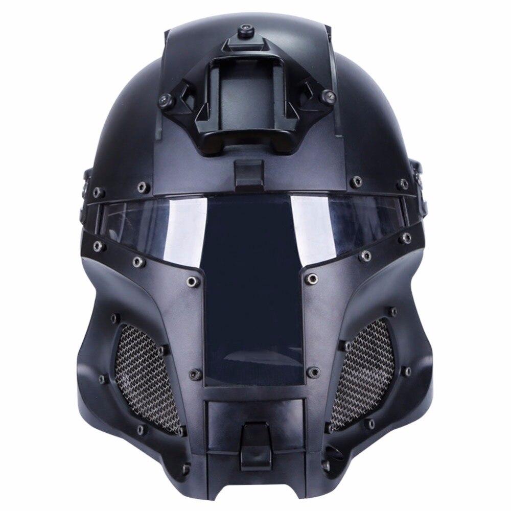 WoSporT 2018 Tactical Helmet Military Ballistic Helmets Side Rail NVG Shroud Transfer Base Sports Army Combat