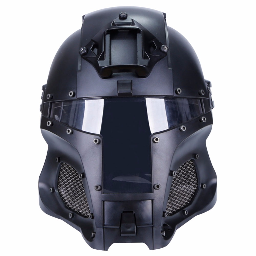 WoSporT 2018 Tactique Casque Militaire Balistiques Casques Côté Rail NVG Linceul De Base De Transfert Sport Armée Combat Airsoft Paintball