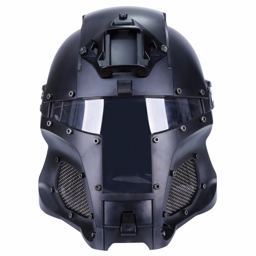 WoSporT 2018 casque tactique militaire casques balistiques Rail latéral NVG linceul transfert Base sport armée Combat Airsoft Paintball