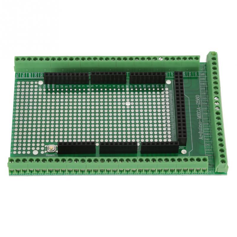 1 set MEGA-2560 R31 Prototype Vis Terminal Terminal Module Kit Bloc Bouclier Kit de Carte Carte de Dérivation