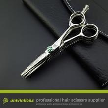 """Univinlions 5.5 """"multi blade nożyczki fryzjer fryzjer multi cut nożyczki 3 warstwy chunking shear japoński ścinanie włosów nożyce"""