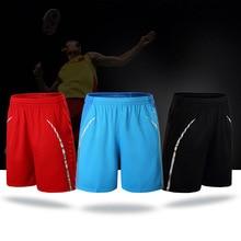 Спорт на открытом воздухе Настольный теннис Шорты для бадминтона Training Фитнес тренировки брюки для Для мужчин Для Женщин Упражнения бег спортивные штаны