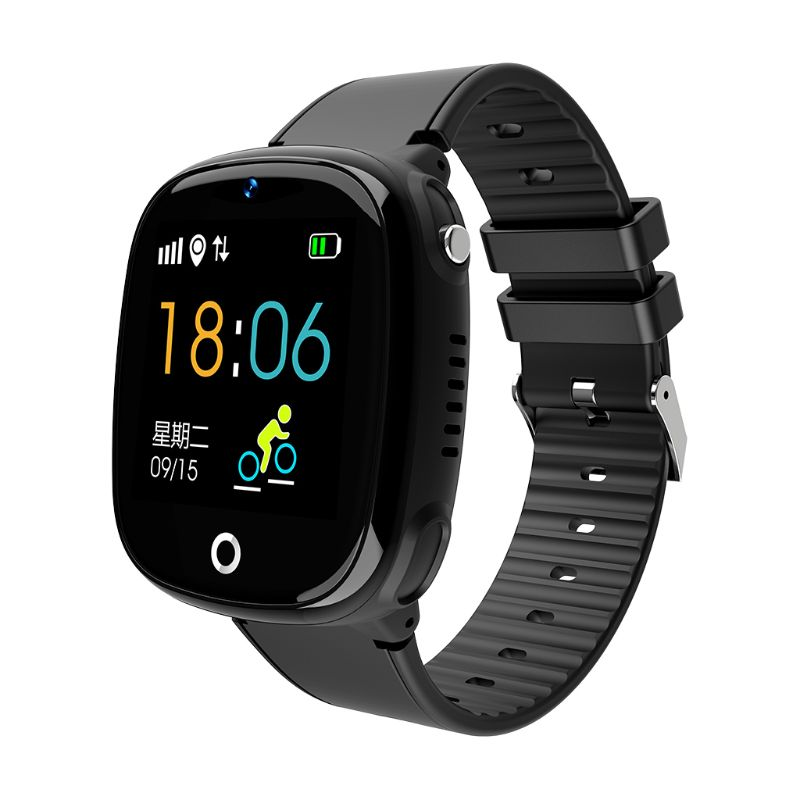 HW11 IP67 Waterproof Smart Watch GPS Tracking Security Fence SOS Call Pedometer Intelligent Watch with Camera for Children Kids(China)