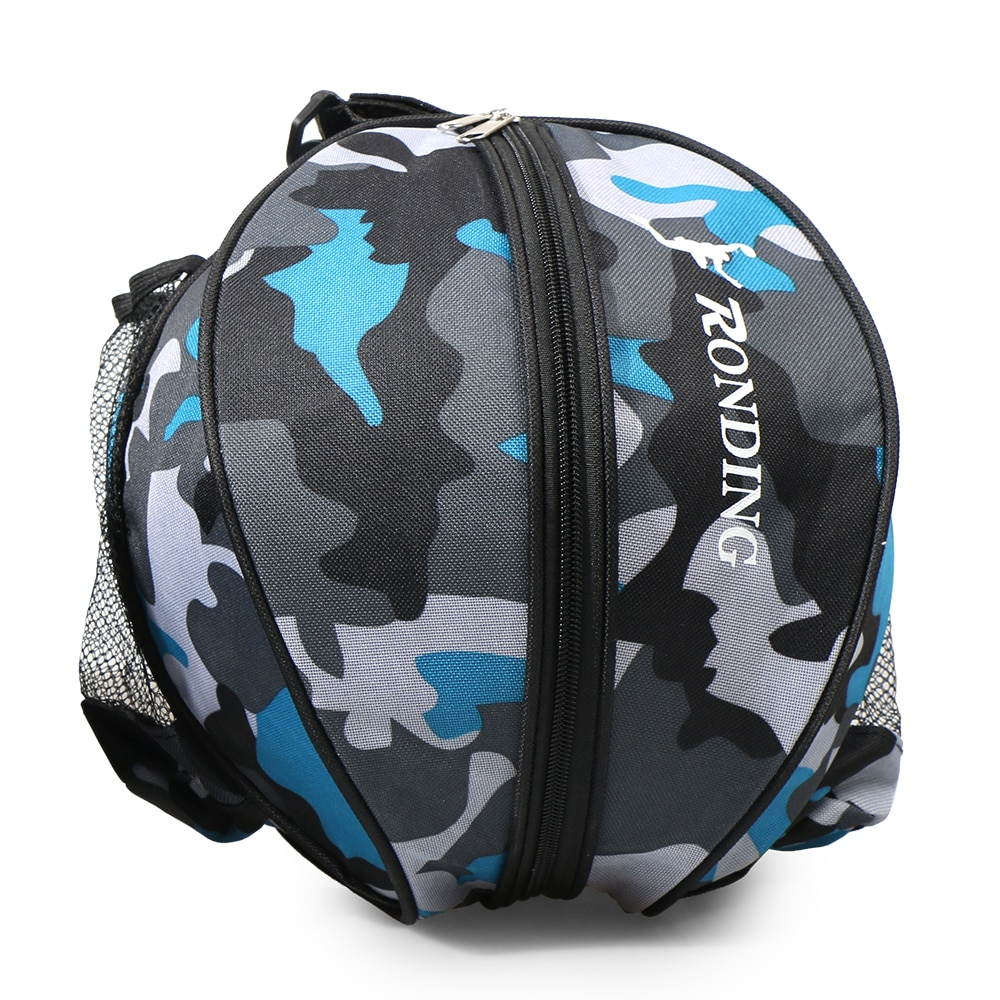 Outdoor Sports Shoulder Basketball Ball Bags Training Equipment Sports Ball Round Bag Soccer Ball Football Volleyball Backpack Bracing Up The Whole System And Strengthening It