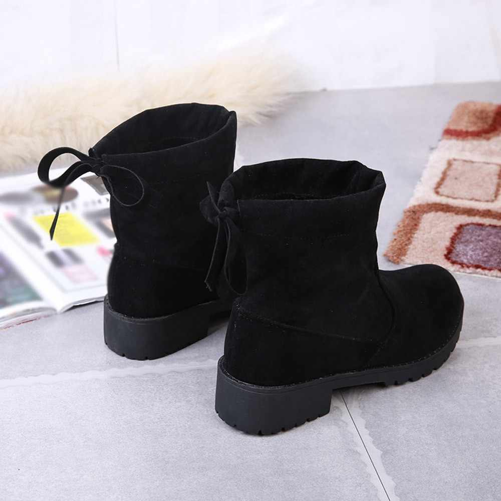 cbc13d856e9 ... Ladies Shoes Woman Winter 2018 Casual Women Shoes Ladies Shoes Flats  Botas Femininas De Inverno Planas ...