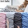 1000g Super Thick Wool Alternative Chunky Yarn DIY Bulky Arm Knitting Blanket Hand Knitting Spin Yarn Pet Mat Christmas Hat 3CM