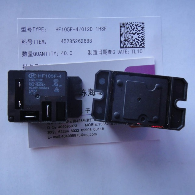 df60147a9 Free shipping lot(5pieces lot) 100%Original New HF HF105F 4 012D ...