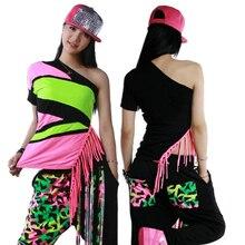 Nueva ropa de moda hip hop Loose Top camisas femeninas traje al por mayor  las mujeres de Harajuku La camiseta floja de la borla cedd5254e4d