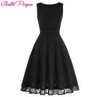 Belle poque sexy vintage floral lace women dress summer 2017 robe femme elegante 50 s retro rockabilly swing vestido de partido de tarde vestidos