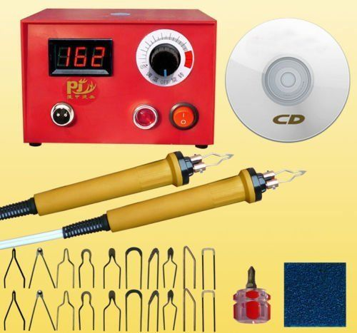 110V 50W Digital display Pyrography Pen Machine Kit Set Gourd Wood Crafts Tools110V 50W Digital display Pyrography Pen Machine Kit Set Gourd Wood Crafts Tools