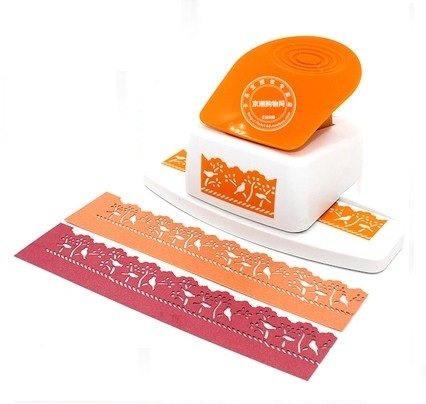 free shipping bird in tree shape border punch foam paper embossing punch  Edge craft punch scrapbook punches for paper cut