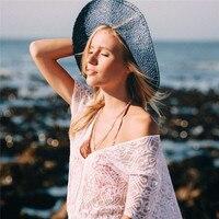 2018 heißer Verkauf Sexy Beach Cover up Häkeln Weiß Bademode Kleid damen Badeanzug vertuschungen Strand Tunika Saida de Praia Vestidos