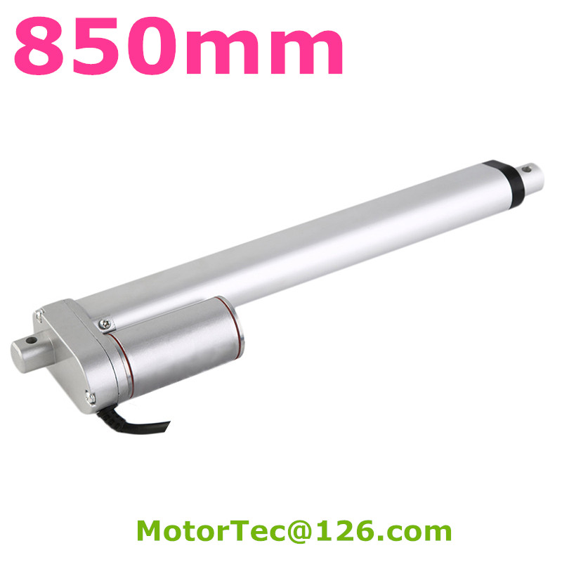 850mm stroke 1500N 150KG load capacity high speed 12V 24V DC electric linear actuator,actuator linear 800mm stroke 1500n 150kg load capacity high speed 12v 24v dc electric linear actuator actuator linear