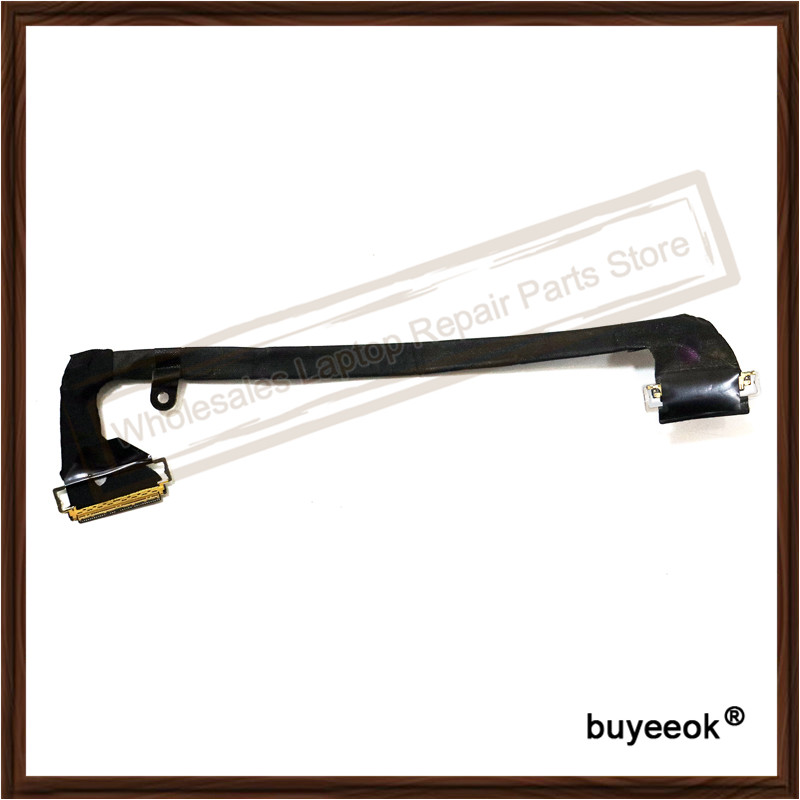 Original A1297 LCD Screen Flex Cable 17 Inch For Apple MacBook Pro Replacement Laptop Repair Parts Tested Working Well brand new vas5052a detector touch screen lcd screen well tested working three months warranty
