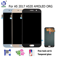 Compatible For SAMSUNG GALAXY LCD A5 2017 LCD A520 A520F SM A520DS LCD Display With Touch