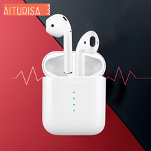 i10 tws Wireless Headphones Bluetooth Earphone Headset Support Wireless Charging Built-in Mic Touch Type Earphones Not i7s i9s