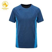 Bereich Basis Männer T Shirt Männer Kurzarm Quick Dry T hemd Casual Männer Fitness Atmungsaktivem t-shirt mann top kleidung