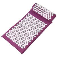 2pcs Acupressure Mat Pillow Massager Body Head Back Foot Massage Cushion Spike Mat Relief Chiropractic Body
