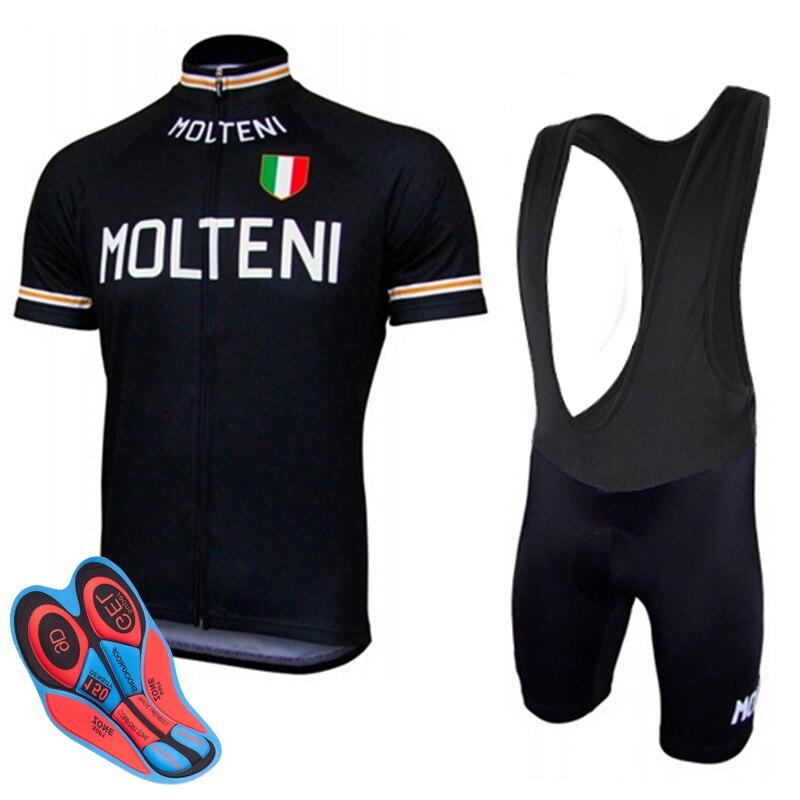 Sommer MOLTENI Radfahren Kleidung MTB Bike Jersey Set Ropa Ciclista Hombre Maillot Ciclismo Racing Fahrrad Kleidung Radfahren Set